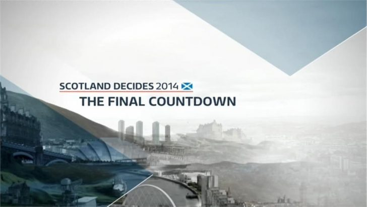 Scotland Independence: Live Results on BBC, ITV/STV, Sky News