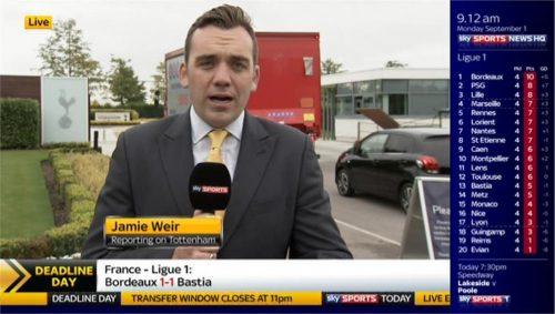 Jamie Weir - Sky Sports News HQ (2)