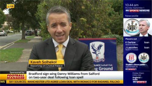 Kaveh Solhekol - Sky Sports News HQ (1)