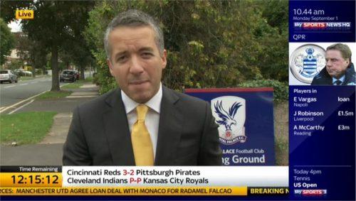 Kaveh Solhekol - Sky Sports News HQ (4)