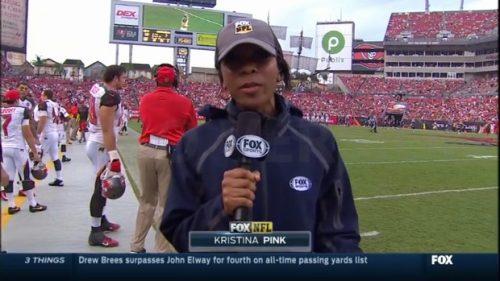 Kristina Pink - NFL on FOX - Sideline reporter (3)