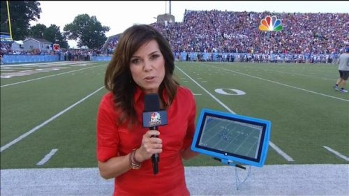 Michele Tafoya - NFL on NBC Sports - Sideline Reporter (3)