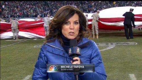 Michele Tafoya - NFL on NBC Sports - Sideline Reporter (4)