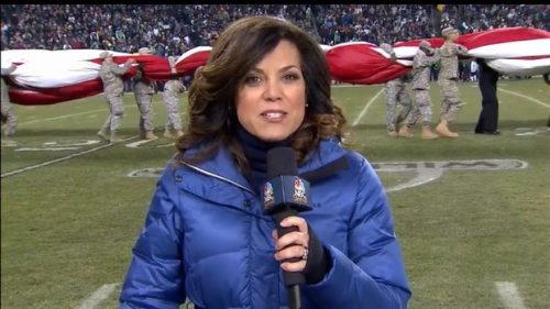 Michele Tafoya - NFL on NBC Sports - Sideline Reporter (5)