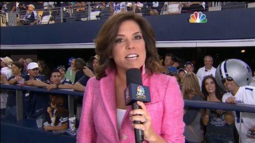 Michele Tafoya - NFL on NBC Sports - Sideline Reporter (6)