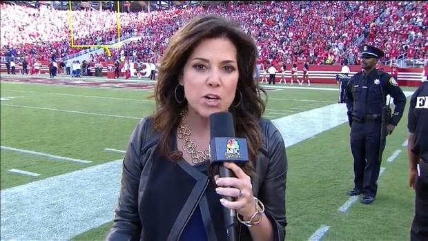 Michele Tafoya - NFL on NBC Sports - Sideline Reporter (7)