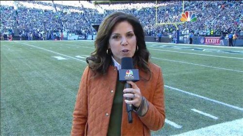 Michele Tafoya - NFL on NBC Sports - Sideline Reporter (8)