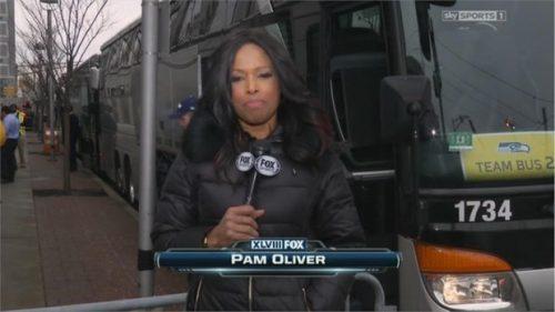 Pam Oliver - NFL on FOX - Sideline Reporter (4)