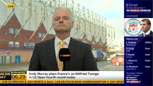 Peter Stevenson - Sky Sports News HQ (1)