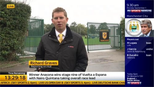 Richard Graves - Sky Sports News HQ (2)