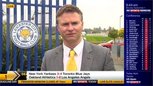 Rob Dorsett - Sky Sports News HQ (3)