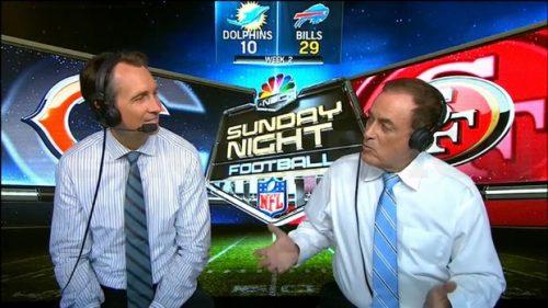 Cris Collinsworth - NFL on NBC - Sunday Night Football Commentator (1)
