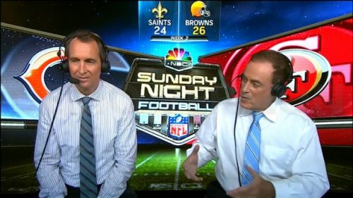 Cris Collinsworth - NFL on NBC - Sunday Night Football Commentator (2)