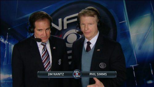 Jim Nantz - NFL on CBS Commentator (2)