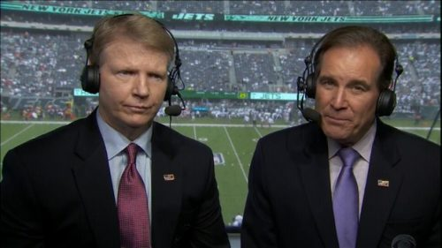 Jim Nantz - NFL on CBS Commentator (6)