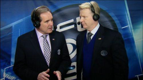 Jim Nantz - NFL on CBS Commentator (8)