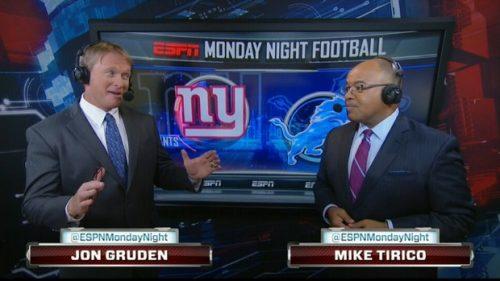 Jon Gruden - NFL on ESPN Commentator (1)