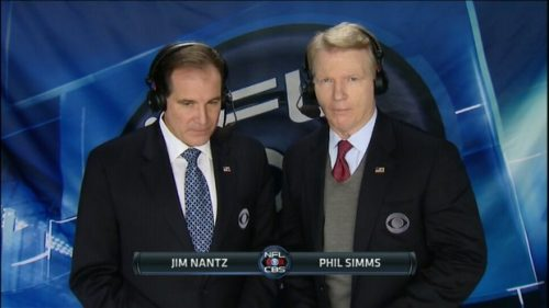 Phil Simms - NFL on CBS Commentator (1)