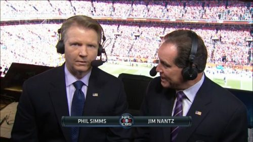 Phil Simms - NFL on CBS Commentator (10)
