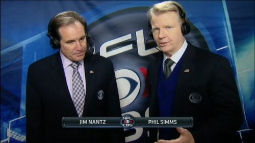 Phil Simms - NFL on CBS Commentator (12)