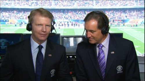 Phil Simms - NFL on CBS Commentator (3)