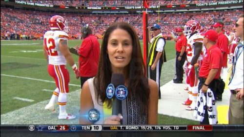 Tracy Wolfson - NFL on CBS - Sideline Reporter (10)
