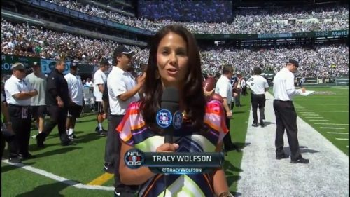 Tracy Wolfson - NFL on CBS - Sideline Reporter (11)