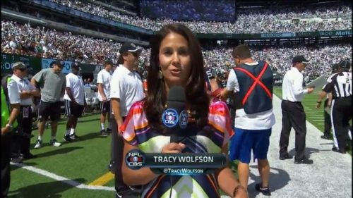 Tracy Wolfson - NFL on CBS - Sideline Reporter (12)