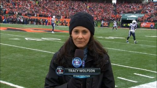 Tracy Wolfson - NFL on CBS - Sideline Reporter (4)