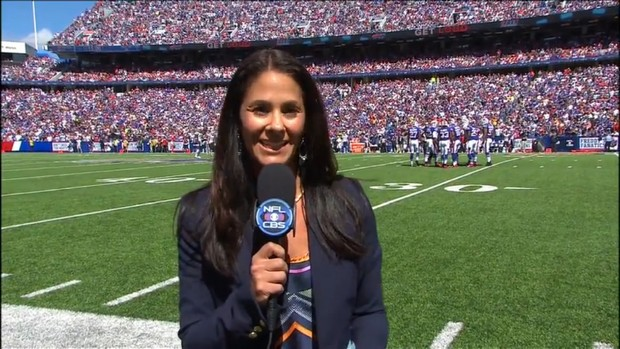 Tracy Wolfson - NFL on CBS - Sideline Reporter (5)