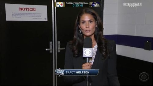 Tracy Wolfson - NFL on CBS - Sideline Reporter (7)