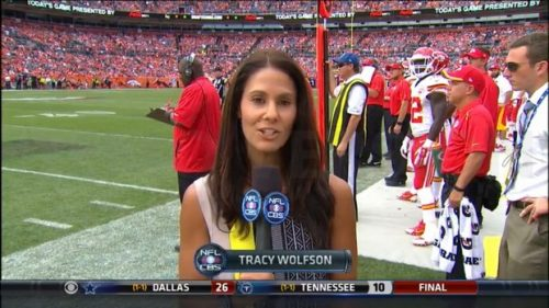 Tracy Wolfson - NFL on CBS - Sideline Reporter (9)