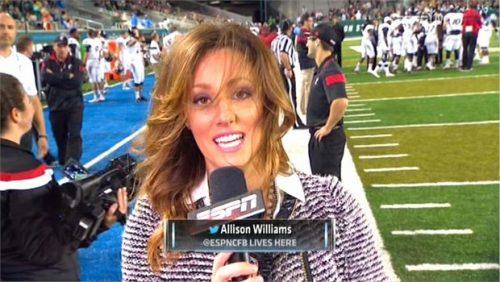 Allison Williams - ESPN College Football - Reporter (2)