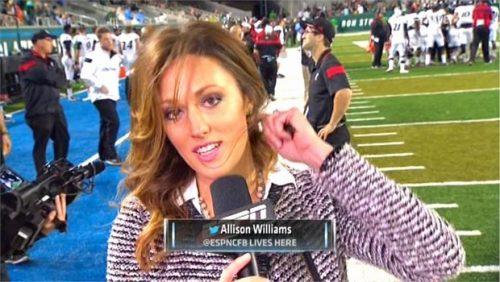 Allison Williams - ESPN College Football - Reporter (3)