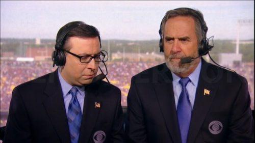 Dan Fouts - NFL on CBS Commentator (2)