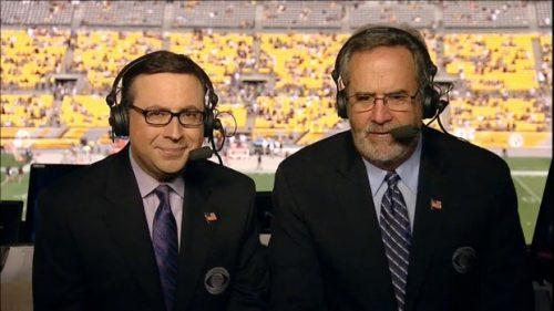 Dan Fouts - NFL on CBS Commentator (3)