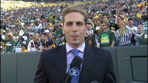 Evan Washburn - NFL on CBS -- Sideline Reporter (1)
