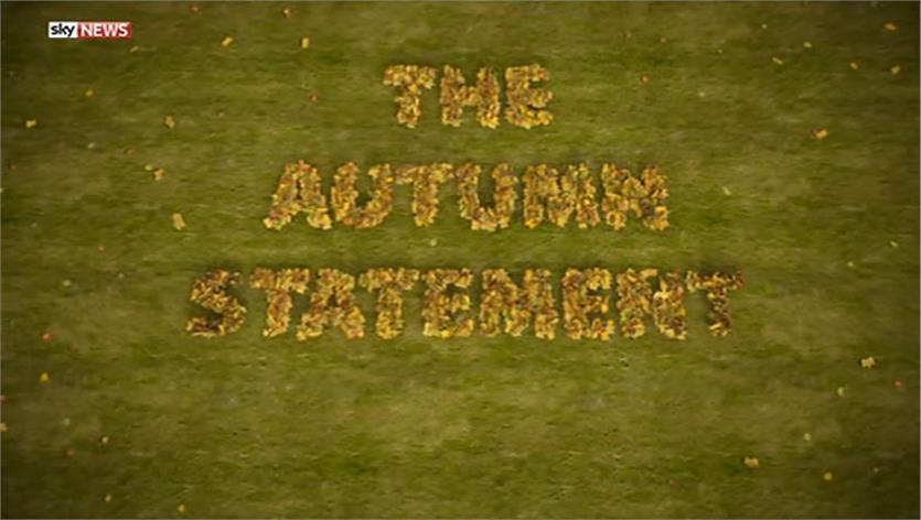 Autumn Statement – Sky News Promo 2014