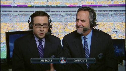 Ian Eagle - NFL on CBS Commentator (1)