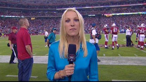 Lindsay Czarniak - NFL on ESPN - Sideline Reporter (1)