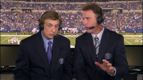 Marv Albert - NFL on CBS Commentator (1)