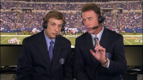 Marv Albert - NFL on CBS Commentator (2)