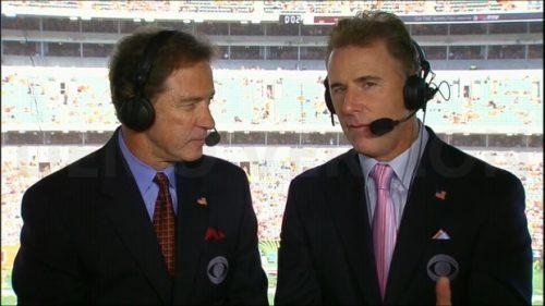 Rich Gannon - NFL on CBS Sports Commentator (1)