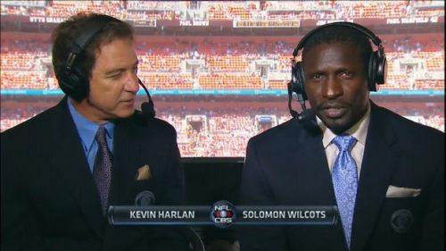 Solomon Wilcots - NFL on CBS Commentator (2)