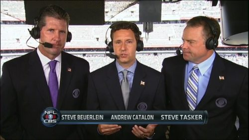 Steve Beuerlein - NFL on CBS Commentator (1)