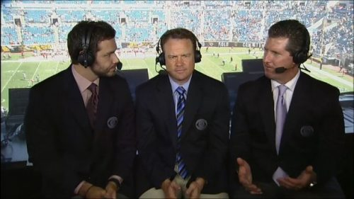 Steve Beuerlein - NFL on CBS Commentator (2)