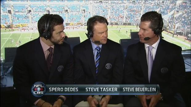 Steve Beuerlein - NFL on CBS Commentator (3)