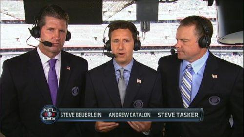 Steve Beuerlein - NFL on CBS Commentator (4)