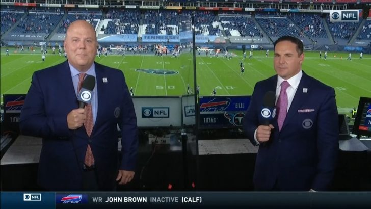 Tom McCarthy and Jay Feely (1)