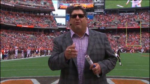 Tony Siragusa - NFL on FOX - Sideline Reporter (2)